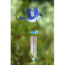 WindyWings Blue Jay Wind Chime