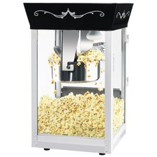 Matinee Movie 8 Ounce Popcorn Machine with Cart