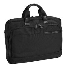 "Dividends Nylon Collection 17"" Slimline Briefcase"