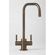 Fulton Two Handle Single Hole Bar Faucet with Lever Handle