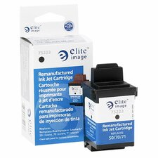 Inkjet Printer Cartridge, 600 Page Yield, Black Ink