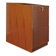 88000 Series File Pedestal, File/File, Cherry