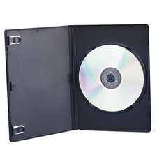 Compucessory CD/DVD Storage Cases, Black