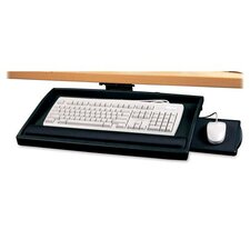 Compucessory Articulating Arm Keyboard Drawer, Putty