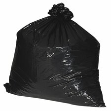 16 Gallon Recycled Trash Bags, .75mil,  500 per Box