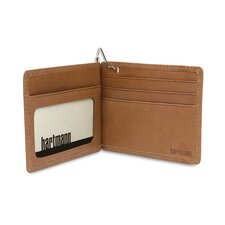 J Hartmann Reserve Money Clip Wallet in Natural
