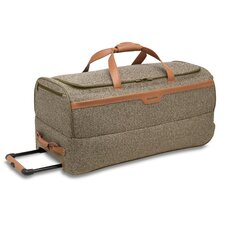 "Tweed 30"" 2-Wheeled Mobile Travel Duffel in Walnut"