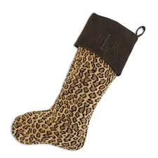 Bobcat Christmas Stocking