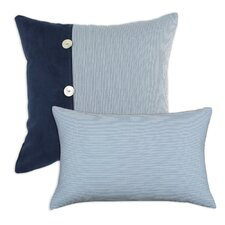 Oxford Limit Eu and Oxford Cotton / Polyester Pillow (Set of 2)