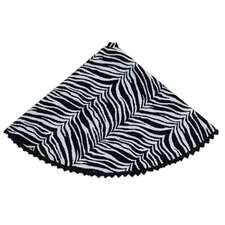 Zebra Tree Skirt