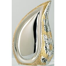Silver / Gold TearDrop Brass Keepsake