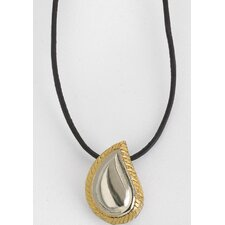 Silver / Gold TearDrop Keepsake Pendant