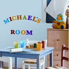 73-Piece Express Yourself Peel and Stick Wall Sticker