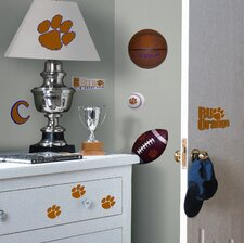 Clemson Tigers Peel and Stick Wall Decal