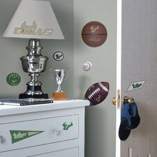 University of South Florida Bulls Peel and Stick Wall Decal