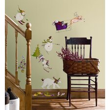 Winter Holiday Peel and Stick Wall Sticker