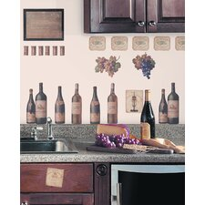 Wine Tasting Peel and Stick Wall Decal