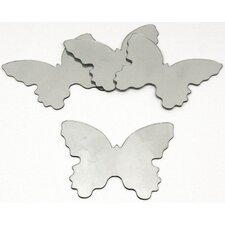 Wall Mirrors Butterfly Peel and Stick Small Decal