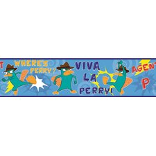 Licensed Designs Agent P Wall Border