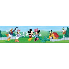 Licensed Designs Mickey and Friends Wall Border