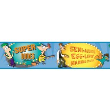 Licensed Designs Phineas and Ferb Wall Border