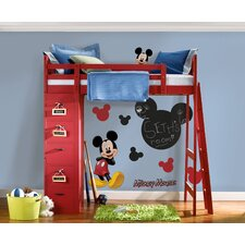 Licensed Designs Mickey Chalkboard Peel and Stick Wall Decal