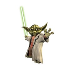 Licensed Designs Star Wars Yoda Peel and Stick Giant Wall Decal