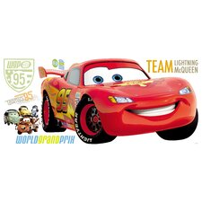 Cars 2 Giant Wall Decal