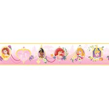 Princess Frames Border in White / Pink