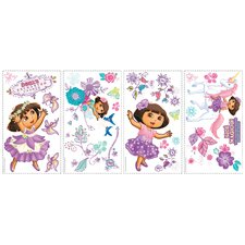Nickelodeon Dora the Explorer Enchanted Forest Adventures Peel and Stick Wall Decal