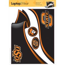 Oklahoma State Peel and Stick Laptop Wear