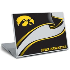 University of Iowa Peel and Stick Laptop Wear