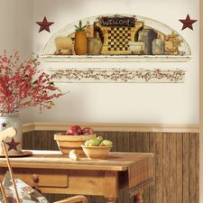 Primitive Arch Peel and Stick Wall Decal