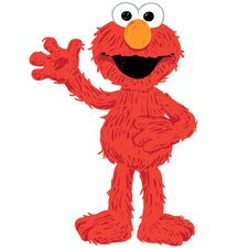 Sesame Street Elmo Loves You Peel and Stick Giant Wall Decals