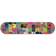 Art of Board Skateboard and Dots Peel and Stick Giant Wall Decals