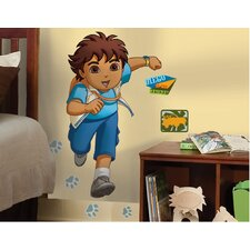 Nickelodeon Go Diego Go! Giant Peel and Stick Wall Sticker