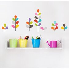 Mia & Co African Flowers Wall Decal