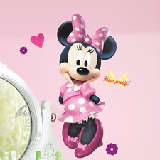 Mickey and Friends Minnie Bowtique Peel and Stick Giant Wall Decal