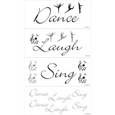 Dance, Laugh, Sing Wall Art