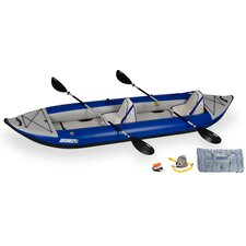Deluxe Explorer Kayak in Gray
