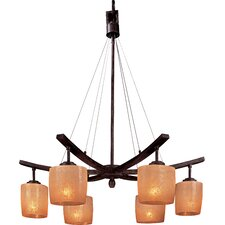 Raiden 6 Light Chandelier