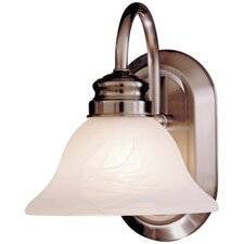 Contractor Series 1 Light Bath Vanity Light