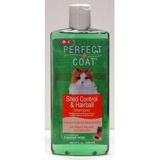 Perfect Coat Shed Hairball Control Shampoo for Cats