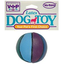Latex Basketball Squeaky Ball Dog Toy