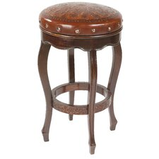 Colonial Spanish Heritage Round Counter Stool