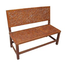 Sevilla Leather Entryway Bench