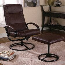 Reclining Chair and Ottoman