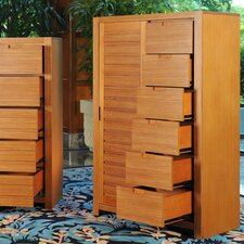 Flyer Sliding Door 6 Drawer Chest