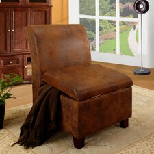 Accent Storage Slipper Chair