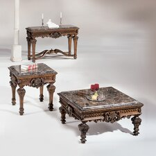 Inlaid Coffee Table Set